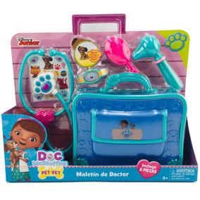Junior Piezas 6 Doctora Maletín Juguetes Disney Incluye RL4Aj5