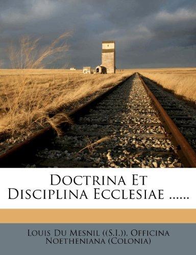 doctrina et disciplina ecclesiae edicion latina