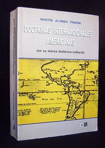 doctrinas internacionales americanas historico juridico