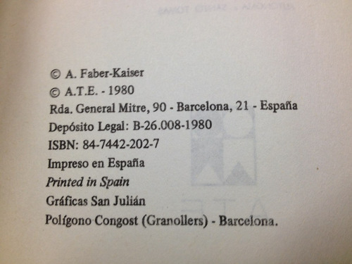 documentación y memorandos - andreas faber-káiser - a.t.e.