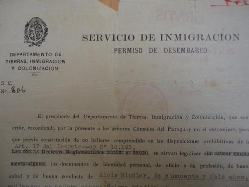 documento antiguo certificado libre de tracoma  praga 1939