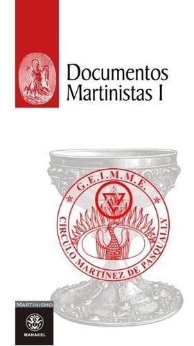 documentos martinistas 1, de pasqually, manakel