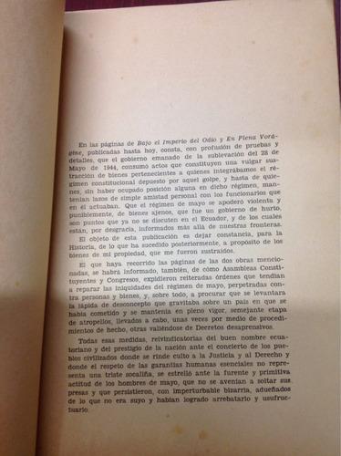 documentos para la historia. c. a. arroyo del rio