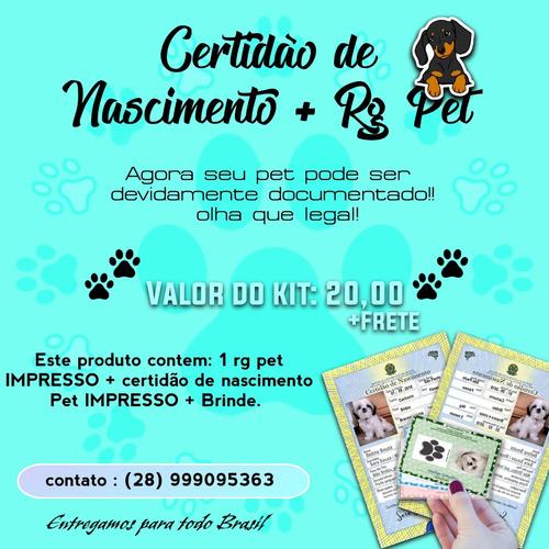 documentos para pet