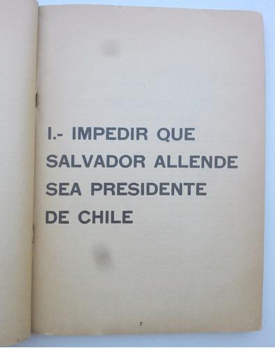 documentos secretos de la itt y la república de chile