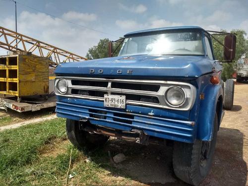 dodge 1973 camión para proyecto o trabajo inmediato
