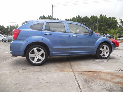 dodge caliber r/t 2007 azul awd