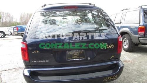 dodge caravan 04-07 2.4  autopartes refacciones yokeado