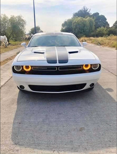 dodge challenger 3.7 3.6 dual stripes at 2017