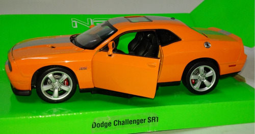dodge challenger 392 hemi - escala 1/24 welly