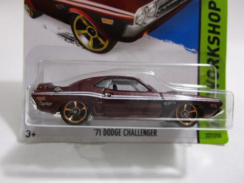 dodge challenger  7 cm largo coleccion metalico b1596