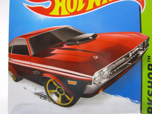 dodge challenger escala 1/64 coleccion hot wheels