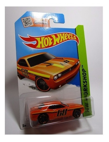 dodge challenger escala 1/64 coleccion hot wheels