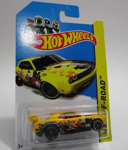 dodge challenger  escala 1/64 de coleccion hot wheels