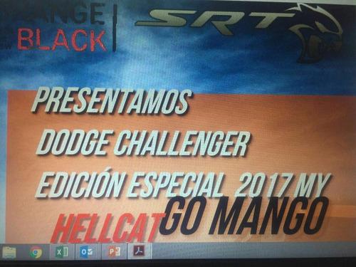 dodge challenger go mango 2017