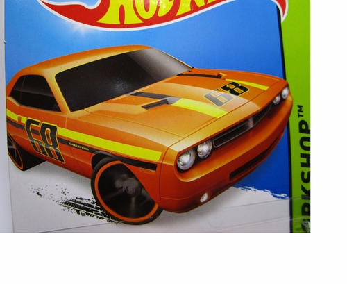dodge challenger  hot wheels w9