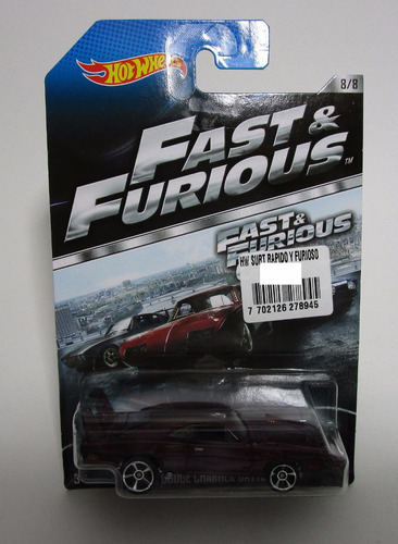 dodge charger daytona fast furious coleccion hot wheels 2013