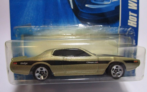dodge charger escala 1/64 coleccion hot wheels
