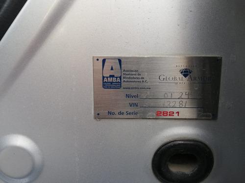 dodge charger rt blindado nivel iv 2011