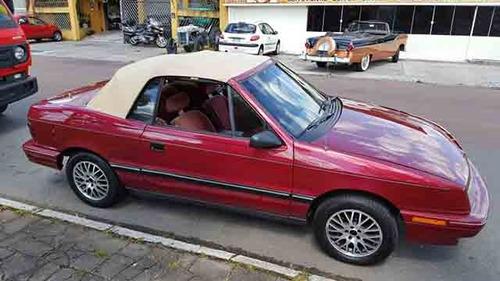 dodge conversivel 1988 automatico troco por antigo r$ 40 000