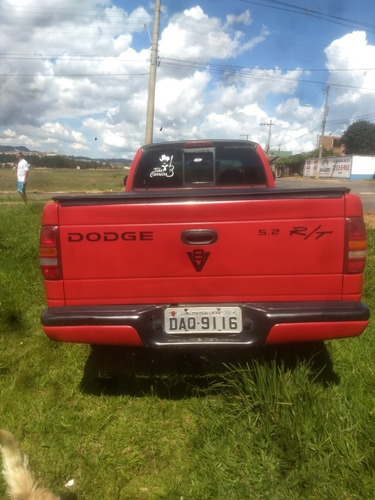 dodge dakota 5.2 r/t cab. estendida 2p 2000