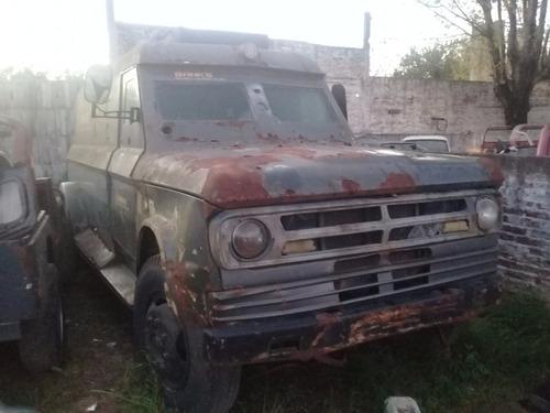 dodge  dp 600 - camion blindado - 1976