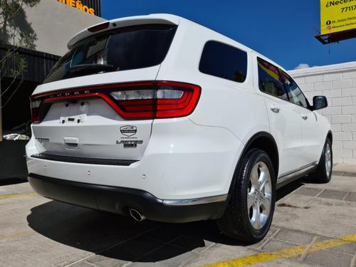dodge durango 2015 limited v6 automatica 7pas nav a crédito