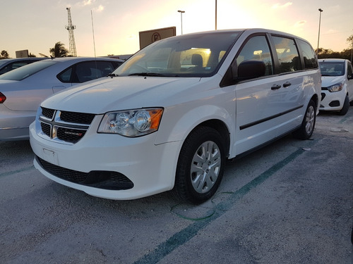 dodge grand caravan 3.7 se at 2017 blanco en cancún