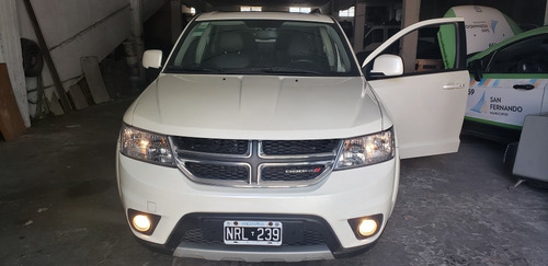 dodge journey 2.4 sxt 170cv atx6 (techo,3 filas ,  dvd)