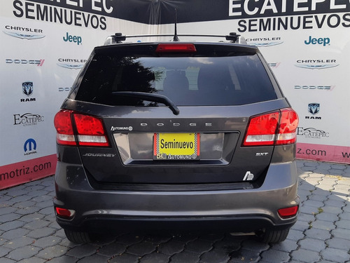 dodge journey 2.4 sxt 7 pasajeros at gris 2017