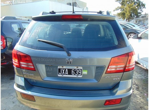dodge journey 2.4 sxt atx (3 filas)+dvd+techo 2011 120.000km