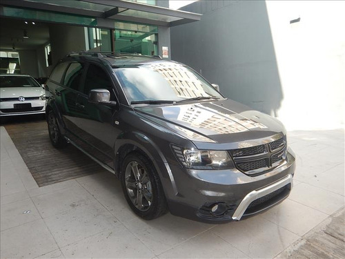 dodge journey journey crossroad 2015 top cinza único dono