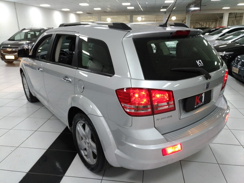 dodge journey rt 2010 prata teto veiculo extremamente novo