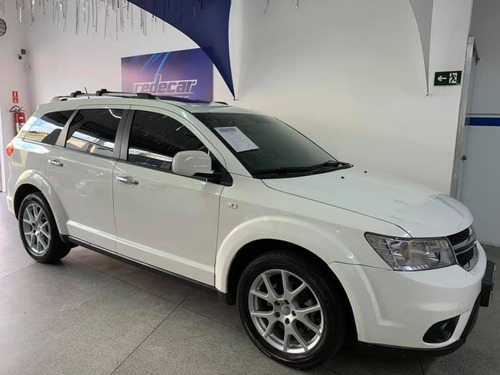 dodge journey r/t v6 2015 branco 5 portas