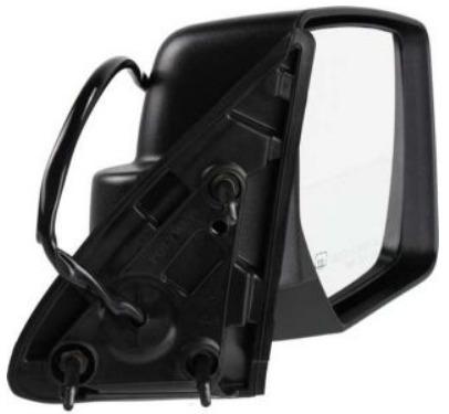 dodge nitro 2007 - 2011 espejo derecho electrico c/ desempa