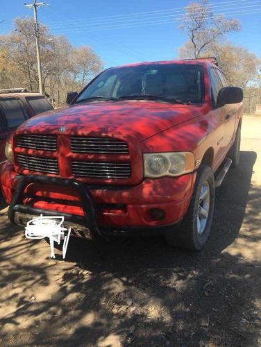 dodge ram 1500 pickup quad cab slt aa piel 4x4 at 2003