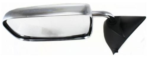 dodge ram 1994 - 1997 espejo izq manual metalico cromado