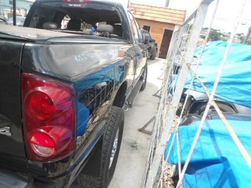 dodge ram 2008 mecanica acessórios lataria rodas vidros