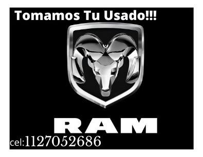 dodge ram 2500 laramie  0km 2020 $5.420.990 o tu usado!* l