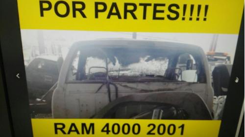 dodge ram 4000 2002 /yonquespartesrefaccionespiezasdesarmo