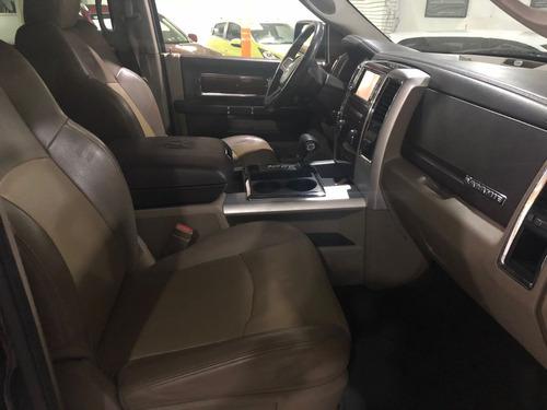 dodge ram 5.7 pickup crew cab laramie 4x4 aut 2010(enganche)