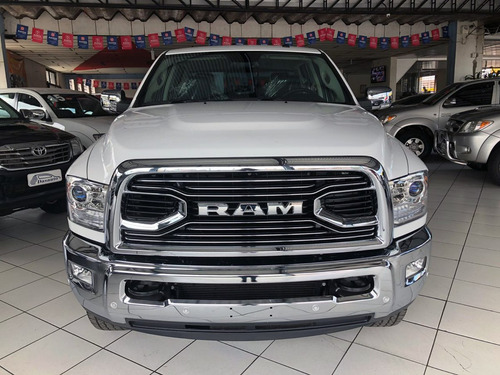 dodge ram 6.7 2500 laramie cd 2018 branco 0km - dasauto