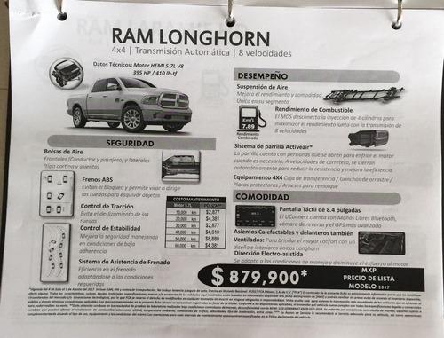 dodge ram longhorn 4x4 2017