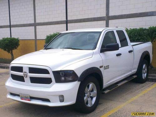 dodge ram pick-up 1500 st quad cab. - automatico