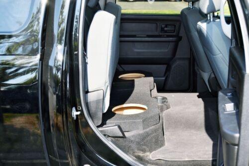 dodge ram quad cabina doble 12'' subwoofer caja sub caj-2500