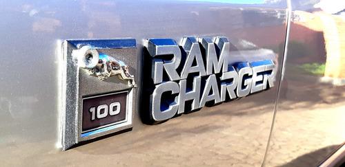 dodge ramcharger cs 1988