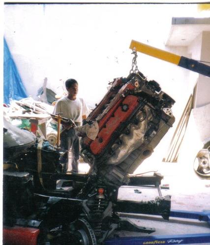 dodge viper rt modelo 1994    accidentado