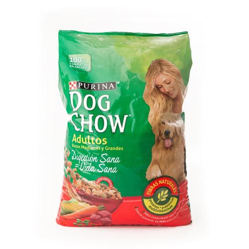 dog chow adultos razas medianas y grandes x 21 kg
