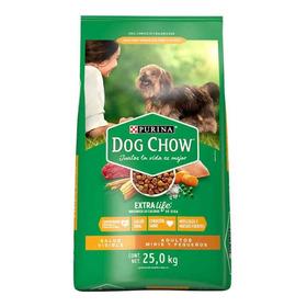 Dog Chow Alimento Perro Adulto  Razas Pequeñas Bulto 25 Kg