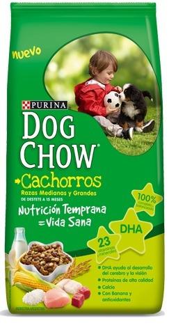dog chow cachorros